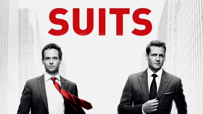 Netflix Box Art for Suits - Season 1