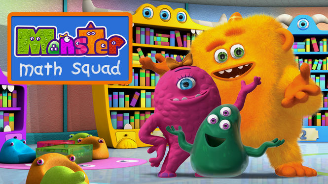 Netflix Box Art for Monster Math Squad - Season 1