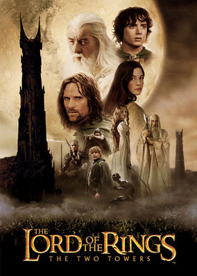Netflix box art for The Lord of the Rings: The Two Towers
