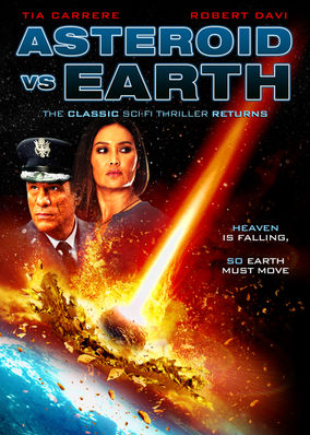 Netflix Box Art for Asteroid vs. Earth