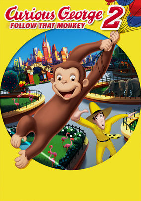 Netflix box art for Curious George 2: Follow That Monkey!