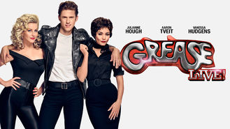 Netflix box art for Grease: Live