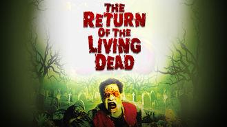 Netflix box art for The Return of the Living Dead
