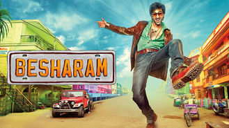 Netflix box art for Besharam