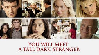 You Will Meet a Tall Dark Stranger