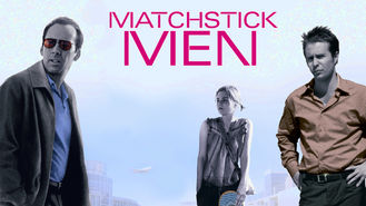 Netflix box art for Matchstick Men
