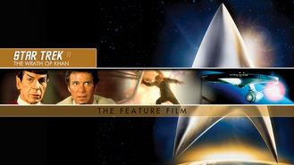 Netflix box art for Star Trek II: The Wrath of Khan