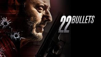 Netflix box art for 22 Bullets